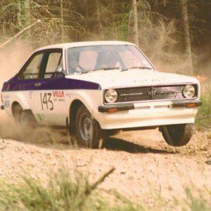 Tony Hanscomb Escort MKII TC Centurian Rally, Hamsterley Forrest